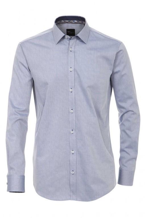 Venti Slim Fit Hemd Blau