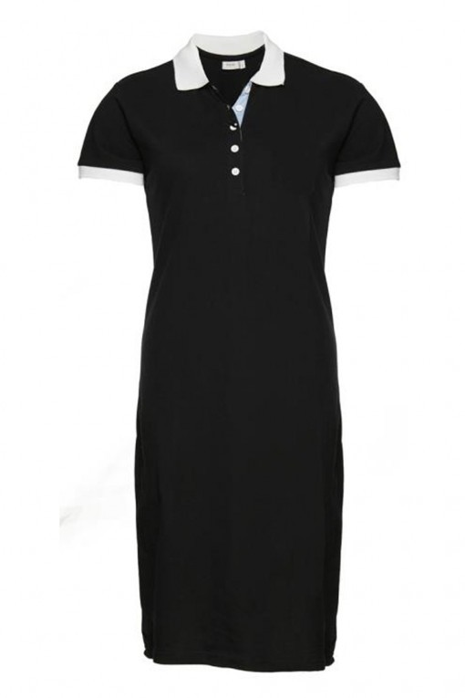 Fransa - Kleid Polo Black