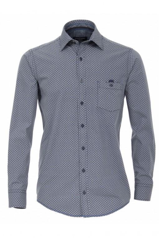 Casa Moda modern fit overhemd - zwart