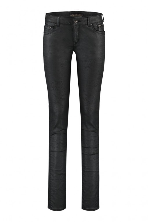 Mavi Jeans Edita - Crashed Black Jeather