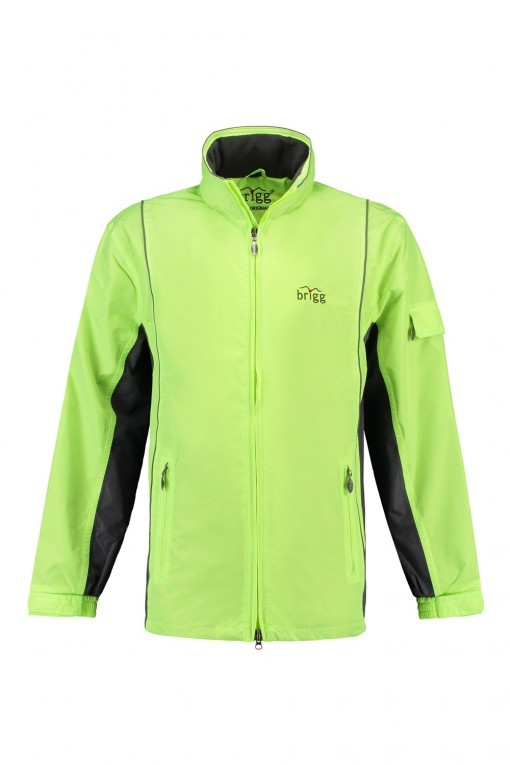 Brigg Outdoor Jacke - Neonyellow / Grey