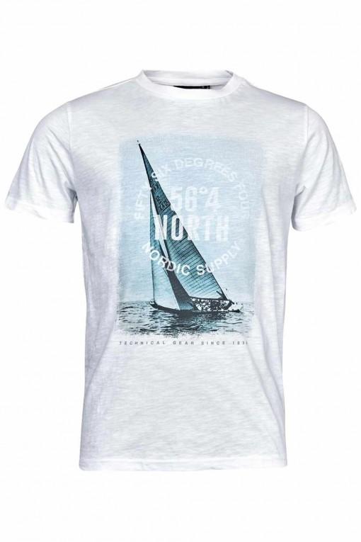 Replika Jeans T-shirt Marine blauw
