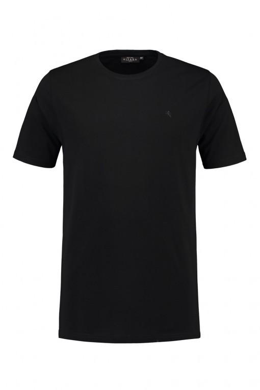 Kitaro T-shirt - Zwart, extra lang t-shirt