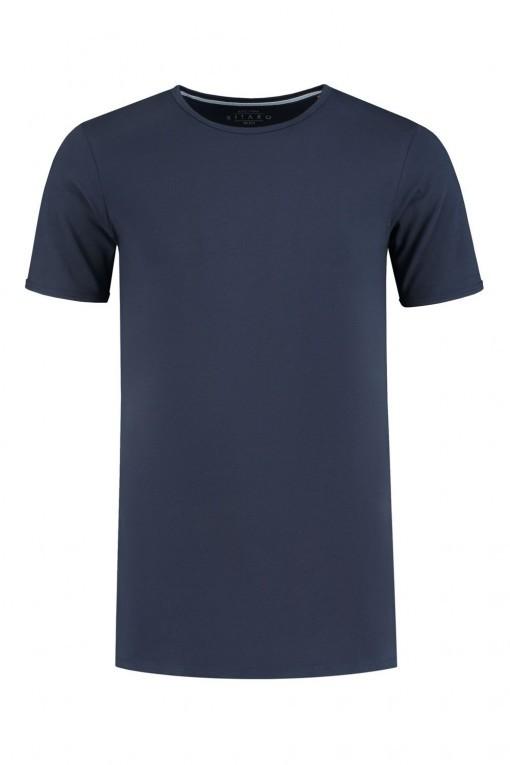 Kitaro T-shirt - Costa Rica Pink, extra lang t-shirt