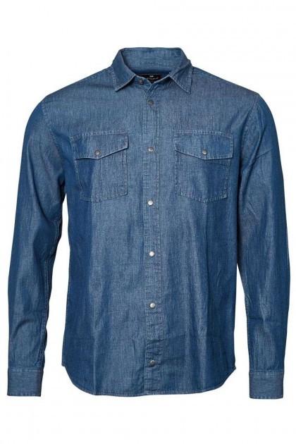 Replika Jeans Overhemd - Black Denim