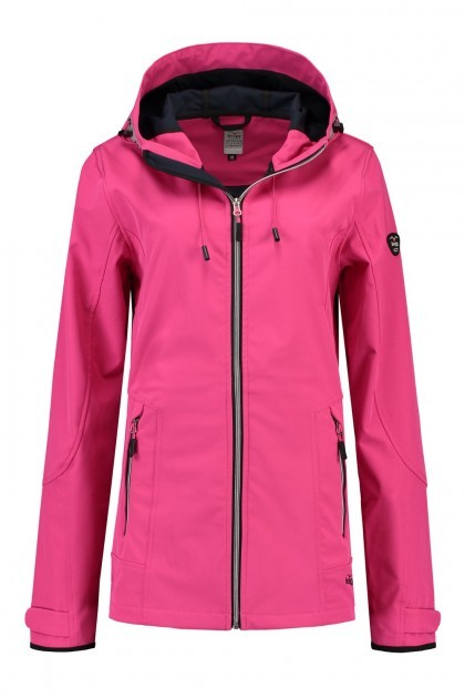 Brigg Softshell Jacke - Bright Pink