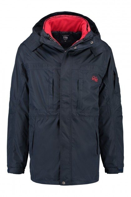 Brigg 3 in 1 Winterjacke - Navy