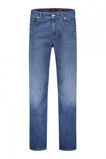 Alberto Jeans Pipe - Mid Blue