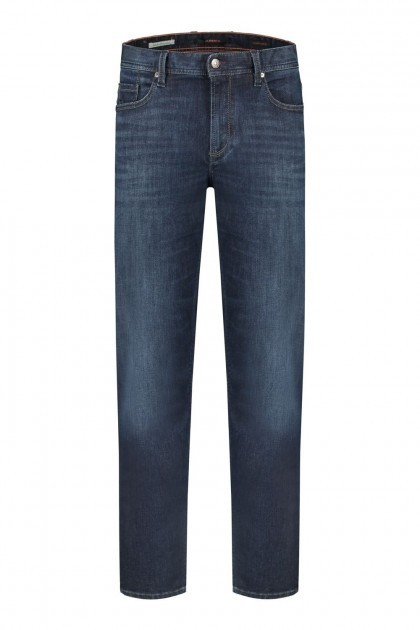 Alberto Jeans Pipe - Mid Blue
