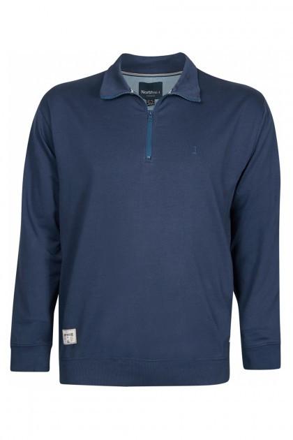 Replika Jeans Sweatvest - Donkerblauw
