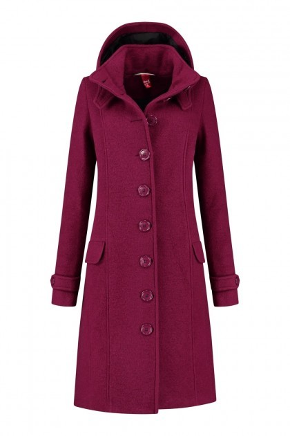 Only M Winter Trenchcoat - Zwart