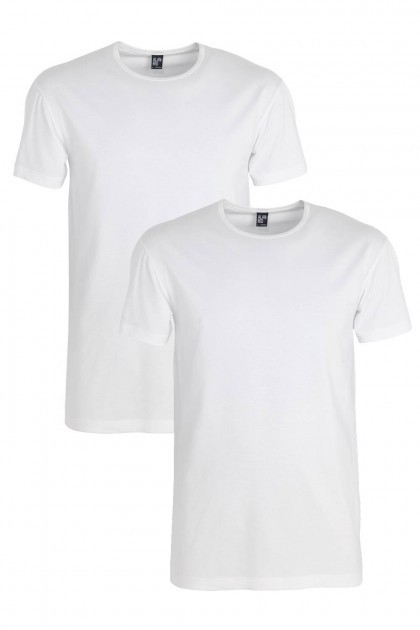 Alan Red T-Shirt - Ottawa Weiß extra lang (2-pack)