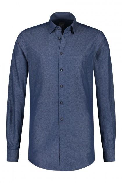 Kitaro overhemd - Harbour Melange