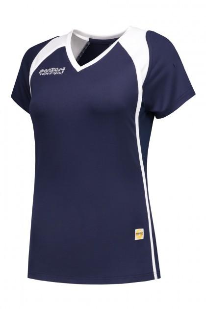 Panzeri Milano Cap Sleeves Shirt - donkerblauw