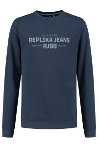 Replika Jeans Sweater - Replika RJ98 Navy