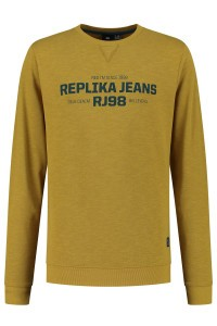 Replika Jeans Sweater - Replika RJ98 Mustard