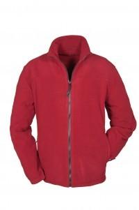 Brigg Fleece Jacke – Rot