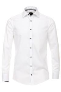 Venti Slim Fit Hemd - Weiß