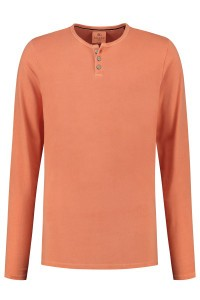 Kitaro Langarm T-Shirt - Orange