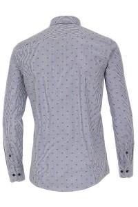 Casa Moda Casual Fit Hemd - Dunkelblaue Streifen