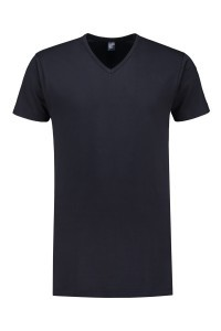 Alan Red T-Shirt - Vermont Navy Extra Lang