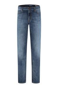 Alberto Jeans Pipe - Blue Used Denim