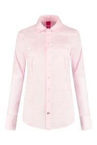 Only M - Bluse Basic Rosa