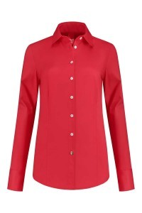 Only M - Blouse Basic Rot