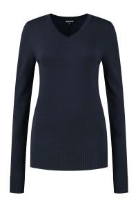 Casa Mia - V-Neck Sweater Navy