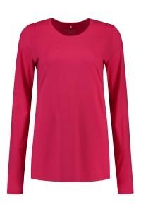 Modee - Shirt Soy fuchsia, extra lang t-shirt