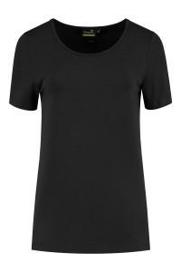 Sequoia - Basic Kurzarmshirt Schwarz