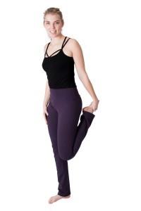 We Love Long Legs - Yogahosen Violet