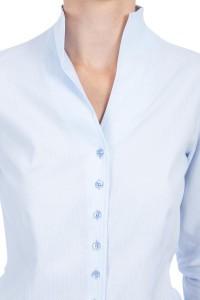 Eterna - Bluse Blaue Punkte