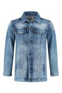 Replika Jeans Jacket - Mid Blue