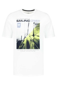 Kitaro T-Shirt - Sailing Crew White