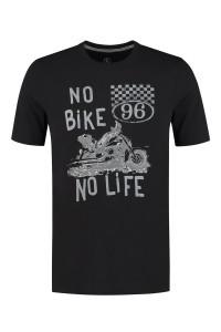 Kitaro T-Shirt - Bike Schwarz