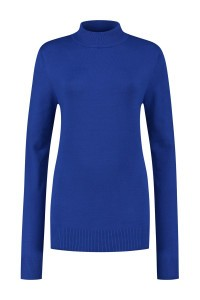 Casa Mia - Basic Pullover Blau