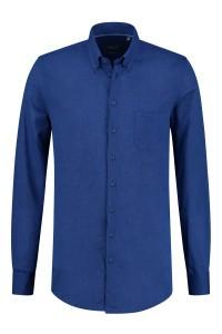 Ledûb Modern Fit Shirt - Blue Linen