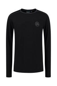 North 56⁰4 Longsleeve - Emblem Black