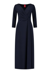 Only M - Kleid Snooze Knoten Navy