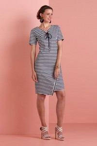 Only M - Kleid Star Righe