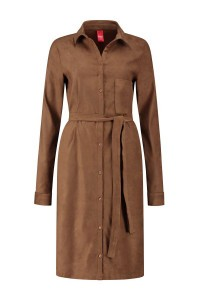 Only M - Kleid Camoscio Camel