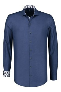 R2 Overhemd - Donkerblauw
