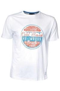 Replika Jeans T-shirt - Cold Hawaii weiß