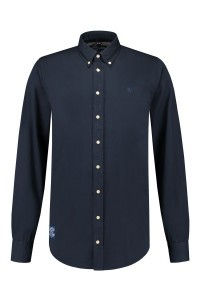 Replika Jeans Hemd Navy Blue