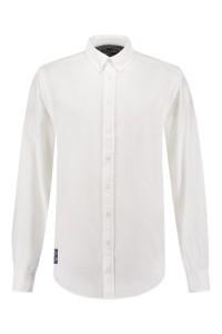 Replika Jeans Hemd Weiß