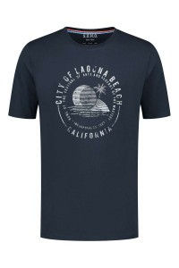 SOHO T-Shirt - City of Laguna Navy