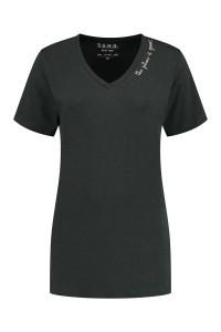 SOHO V-Neck Shirt - Future Carbon