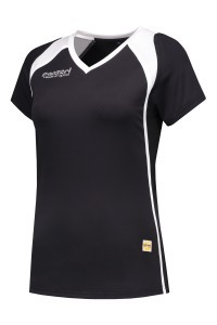 Panzeri Milano Cap Sleeves Shirt - Schwarz