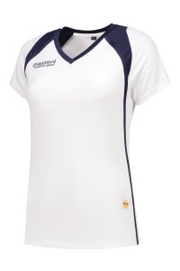 Panzeri Milano Cap Sleeves Shirt - Weiß